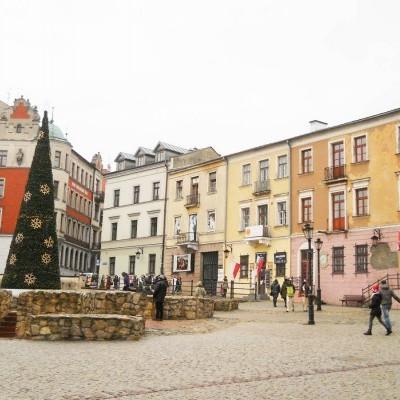 Choinka na Starym Mieście, Lublin