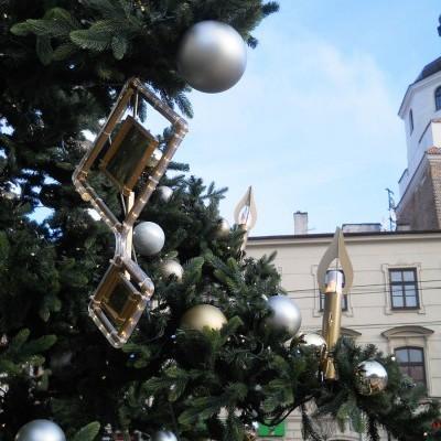 Choinka na deptaku, Lublin